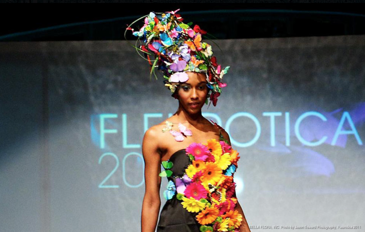 Flowers, Food and Fashion at Evening in Bloom featuring FLEUROTICA lead image