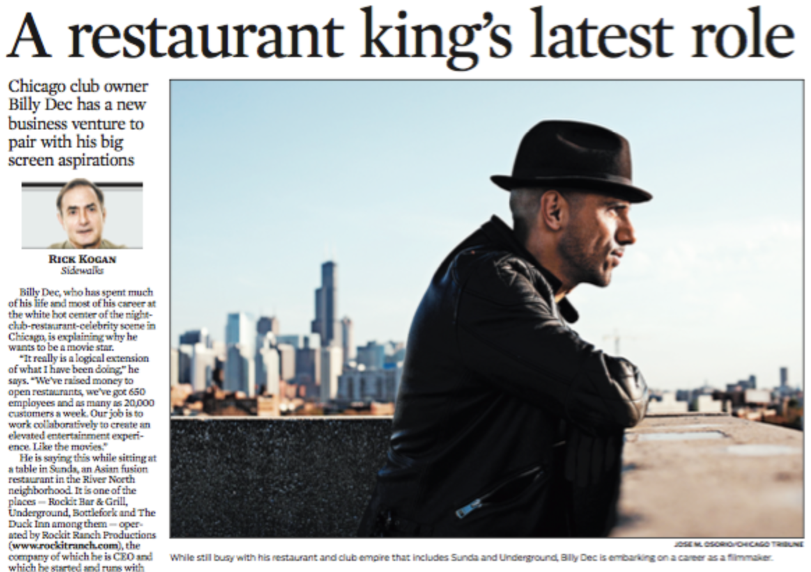 A Restaurant King's Latest Role lead image